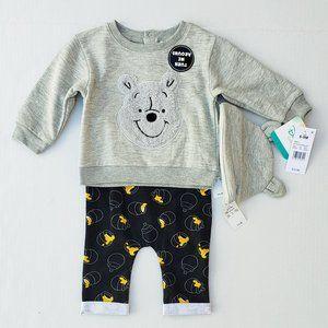 Disney Baby Winnie the Pooh Set sz NB & 6-9 Months